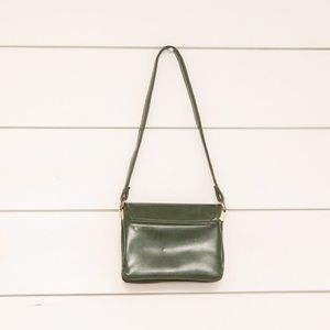 373a118b276 Bags | Vintage Hunter Green Leather Handbag | Poshmark